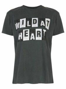 ANINE BING Vintage Wild Heart T-shirt - Black