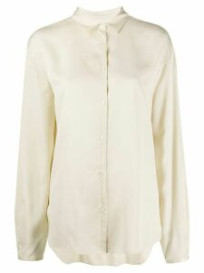 Totême long sleeve blouse - NEUTRALS