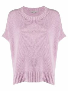 Stella McCartney loose fit knitted top - PINK