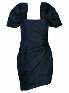 Haney Octavia lurex bustier dress - Blue