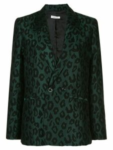 ANINE BING Madeleine fitted blazer - Green