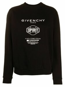 Givenchy logo sweatshirt - Black