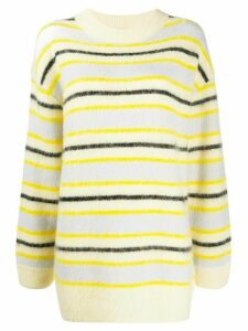 Acne Studios striped pattern jumper - Yellow