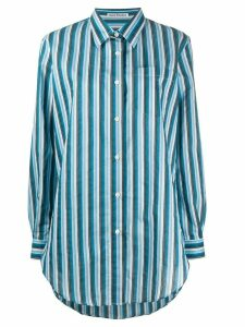 Acne Studios striped button up shirt - Blue