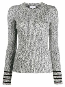 Escada Sport ribbed knit top - Grey