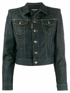 Dsquared2 cropped denim jacket - Blue