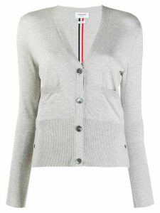 Thom Browne Relax Fit Cardigan - Grey