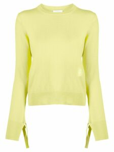 Chloé Iconic straight fit jumper - Yellow