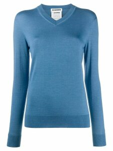 Jil Sander soft knit jumper - Blue