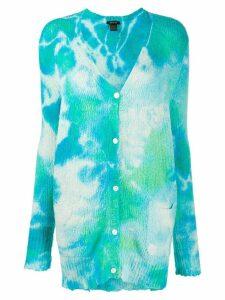 Avant Toi tie-dye effect jumper - Blue