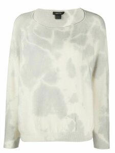 Avant Toi tie-dye effect jumper - Grey