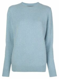 The Elder Statesman crew-neck cashmere jumper - Blue