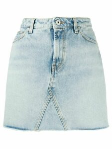 Heron Preston high-rise skirt - Blue