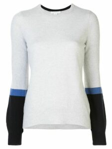 DUFFY cashmere bell sleeve jumper - Grey