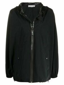 Givenchy oversized logo jacket - Black