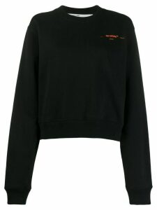 Off-White arrows print sweatshirt - Black