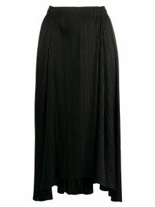 Pleats Please Issey Miyake high-rise pleated midi skirt - Black