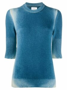 Barrie faded knit top - Blue