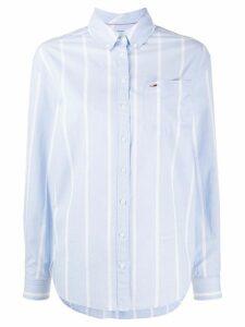 Tommy Jeans stripe print shirt - Blue
