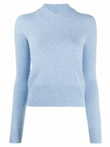 Victoria Beckham slim fit knitted top - Blue
