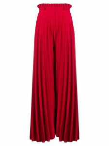Atu Body Couture Anthurium palazzo pants - Red