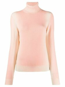 Barrie faded turtle-neck jumper - PINK