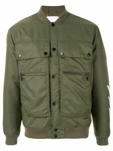 Ports V military bomber jacket - Green