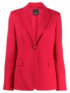 Pinko fitted one button blazer - Red