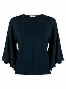 P.A.R.O.S.H. fine knit cropped jumper - Blue