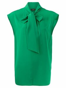Joseph Nancy tie-neck blouse - Green