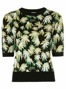 Loewe daisy jacquard knitted top - Black