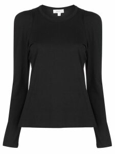 A.L.C. structured shoulder T-shirt - Black