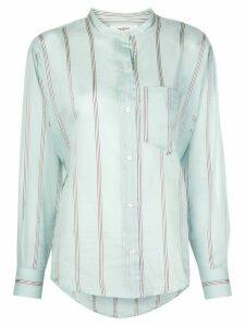 Isabel Marant Étoile stripe print shirt - Blue