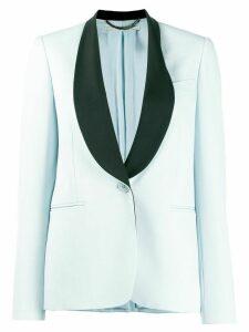 Stella McCartney contrast lapel blazer - Blue