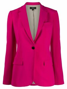 Theory one-button blazer - PINK