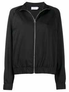 Calvin Klein Milano jersey zip-up jacket - Black