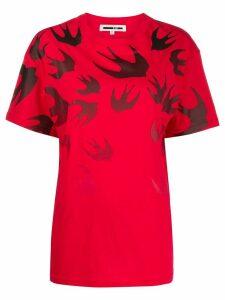 McQ Alexander McQueen oversized T-shirt - Red