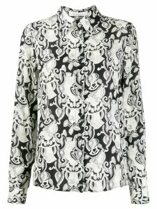 See by Chloé all-over print shirt - Black