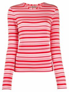 Stine Goya striped fine knit jumper - PINK