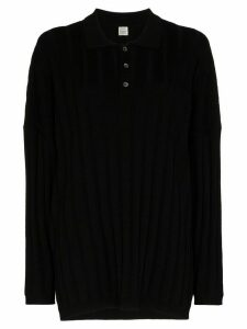 Totême Bonifacio oversized ribbed jumper - Black