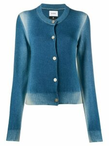 Barrie faded button up cardigan - Blue