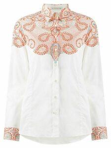 Etro paisley print shirt - White