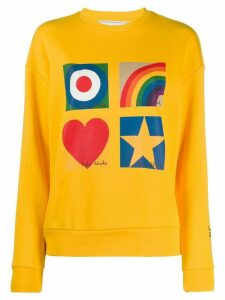 Iceberg x Peter Blake printed sweatshirt - Yellow