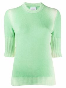 Barrie faded knit top - Green