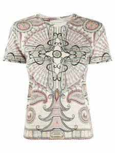 Etro abstract print T-shirt - NEUTRALS