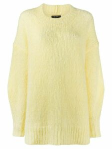 Isabel Marant oversized jumper - Yellow