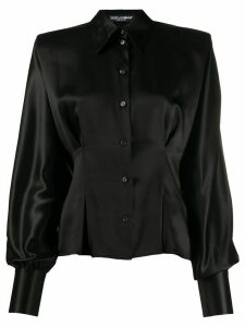 Dolce & Gabbana structured button up blouse - Black