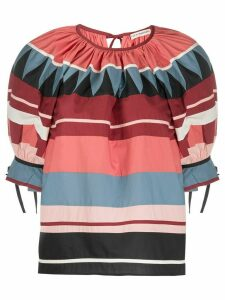 Ulla Johnson Kima striped top - PINK