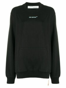 Off-White ARROW SKETCH REGULAR crew neck BLACK WHIT