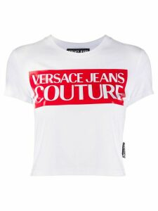 Versace Jeans Couture logo-print slim-fit T-shirt - White